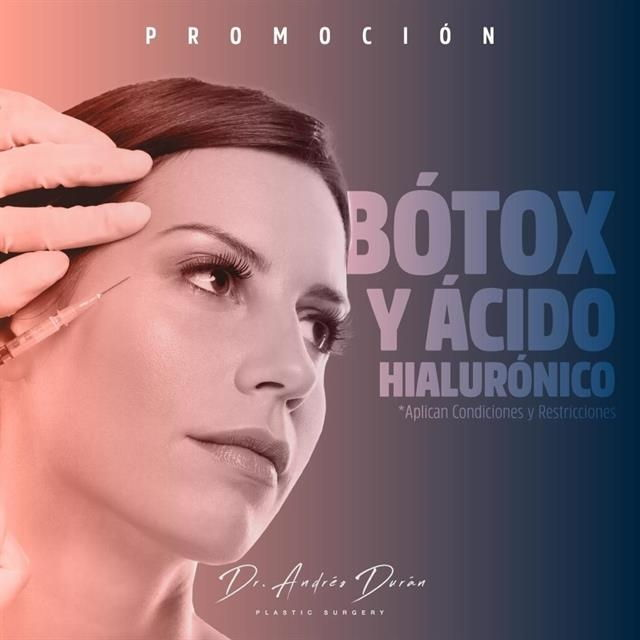 Promotion in hyaluronic acid and botulinum toxin