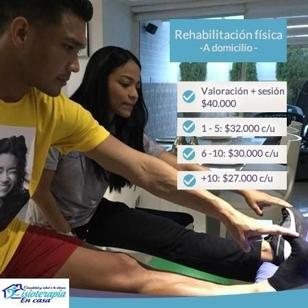 Physical rehabilitation at home
