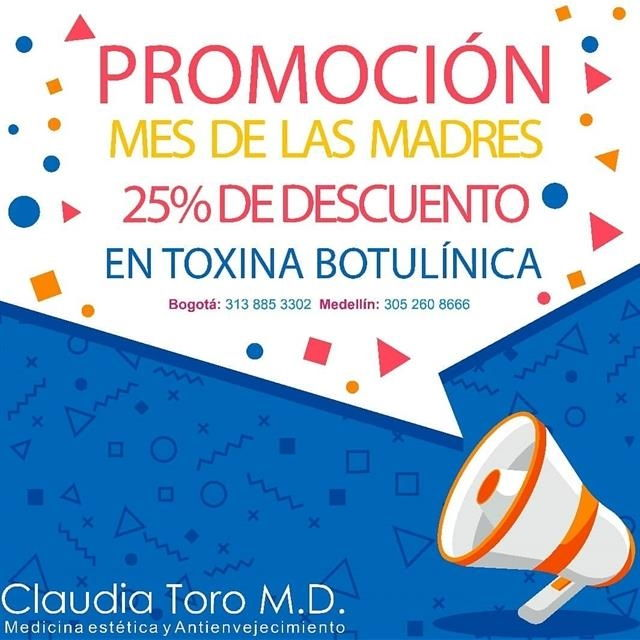 25% discount on botulinum toxin.