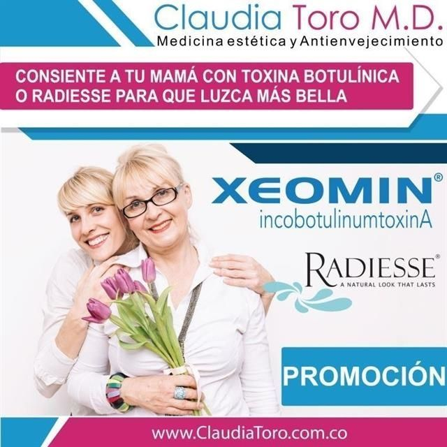 25% discount on Xeomin and 2 x 1 on Radiesse