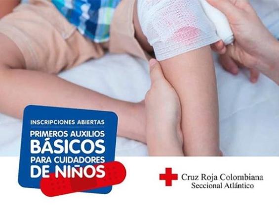 Primero auxilios para cuidadores de niños